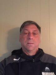 Our Lady of Lourdes boys basketball coach Jim Santoro