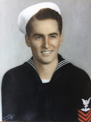 Shasta High grad Wrex Reed during WWII.