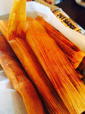 Lost Pizza offers Delta-style tamales and you can even get them added to your cheese dip.