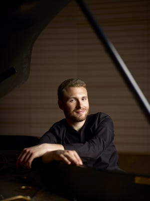 Concert pianist Adam Golka will join the Knoxville Symphony Orchestra for two concerts on Thursday, April 20, and Friday, April 21.