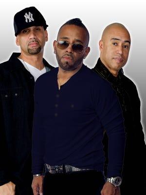 """Wilson """"Tre Deuce"""" Vasquez, Louis """"K7 Sharpe"""" and Carlos """"LOS"""" Reyes of TKA."""