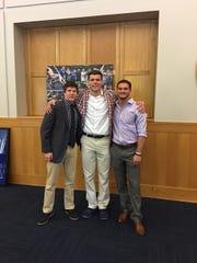 Jacob Kasper with Duke (and Lexington) teammates Brandon