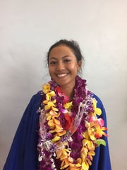 Hannah White, one of five graduates of the Guam Homeschool Association.