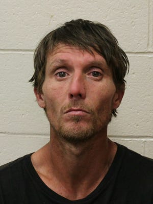 Lee Allen Mason, 41, was accused of stealing more than $500 worth of merchandise from the Fruitland Wal-Mart.