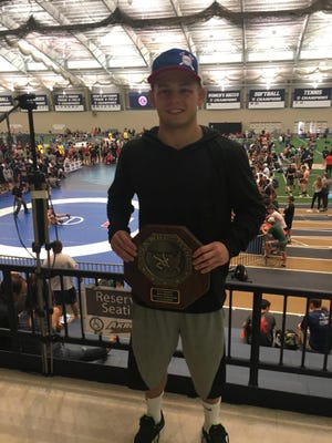 Freestyle All-American Luke Welch, a Castle graduate
