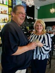 Richard and Meg Goorley at Frank's Louisiana Kitchen