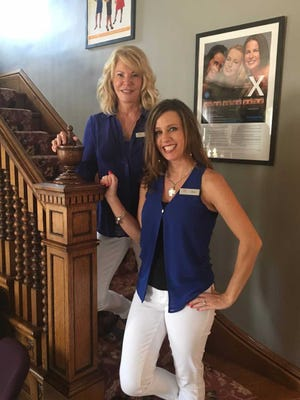 Melissa Corona (right) and Susan Hanson are the owners of Wisconsin-based medical spa A Younger You.