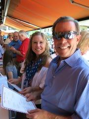 Charlotte Barnett and dear ole dad, Dr. Darrell Barnett