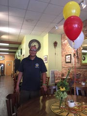 New owner and chef of Timeless Cafe, poses for a photo inside the restaurant located at 18 S. 8th St. in Lebanon.