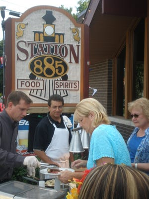 Station 885 is a popular stop on the Old Village Restaurant Crawl every year.