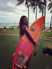 14-year-old Irie Fitzgerald will represent Guam at