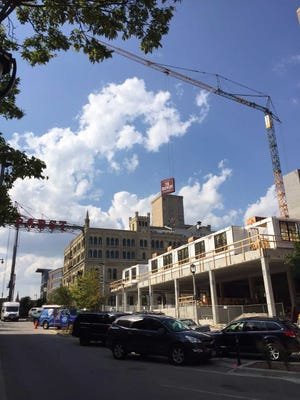 Vim & Vigor apartments is among the projects under construction at The Brewery. Zilber Ltd. is master developer of The Brewery, which is transforming the former Pabst brewery into housing, hotels, offices and other new uses.