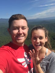 Scotty McCreery proposed to longtime girlfriend Gabi