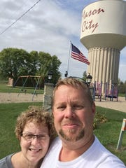 Mark and Donna Holt are pictured here. The Mason City