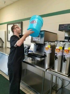 Joe Tuzo works at The Centers in Ocala.