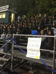 J.P. Stevens High School honored a student who was