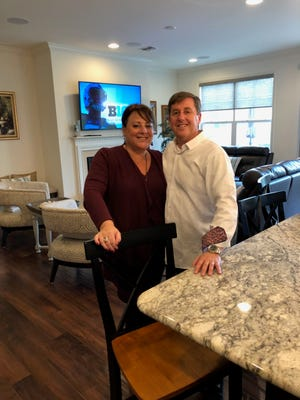 Lisa and Gary Warner, formerly of South Brunswick, fell in love with K. Hovnanian's Four Seasons at Monroe, a new active-adult community.