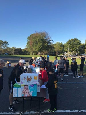 The South Brunswick school-community collected more than 29,000 pounds of supplies in its relief effort for survivors of Hurricane Maria in Puerto Rico