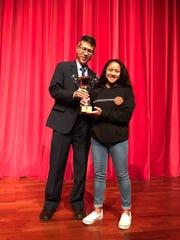 2017 ACSC girls volleyball tournament best setter award