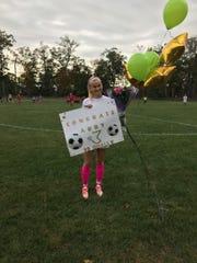 OLMA's Abby Ward set the program's single-season scoring