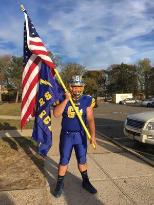 Spotswood football player Alex Hartman