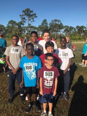 The Renaissance Charter School of St. Lucie Cross Country Team competed at a meet at South Fork High School in Stuart.