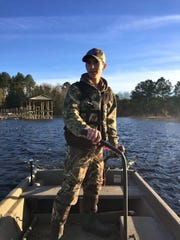 Duck hunting on Lake Jackson. The season starts Nov.