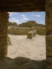 Chaco Canyon was the center of Pueblo culture for more than 400 years, reaching its peak around the year 1000.