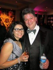Nellie and Havard Lyons at Las Vegas Night.