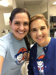 Dr. Angela McNeight,  Caudill Orthodontics, and Dr. Idaigna Alvarez, Sunshine Smiles Pediatric Dentistry, are co-chairs of this year's Give Kids a Smile project.