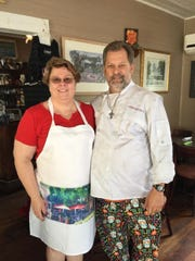 Brevard County tax collector Lisa Cullen will visit chef Larry Berkowitz in February.