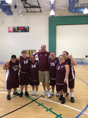 The Naples Special Olympics Skills basketball team recently won the regional tournament in Sarasota by winning five games. The team is coached by Roger Jacobsen, who serves as Naples code enforcer and harbor master. The team consists of Joshua McClellan, Kevin Kennedy, Dominique O'Connell, Jules Porath, Fernando Gonzales and Jeffery Wohlers.