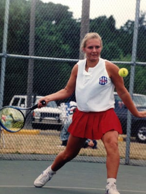 Former Heritage Hills standout Stephanie Hazlett will be inducted into the Indiana Tennis Hall of Fame