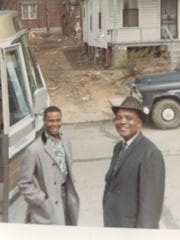 Singer Bob Duckens and choir director H. Edison Anderson