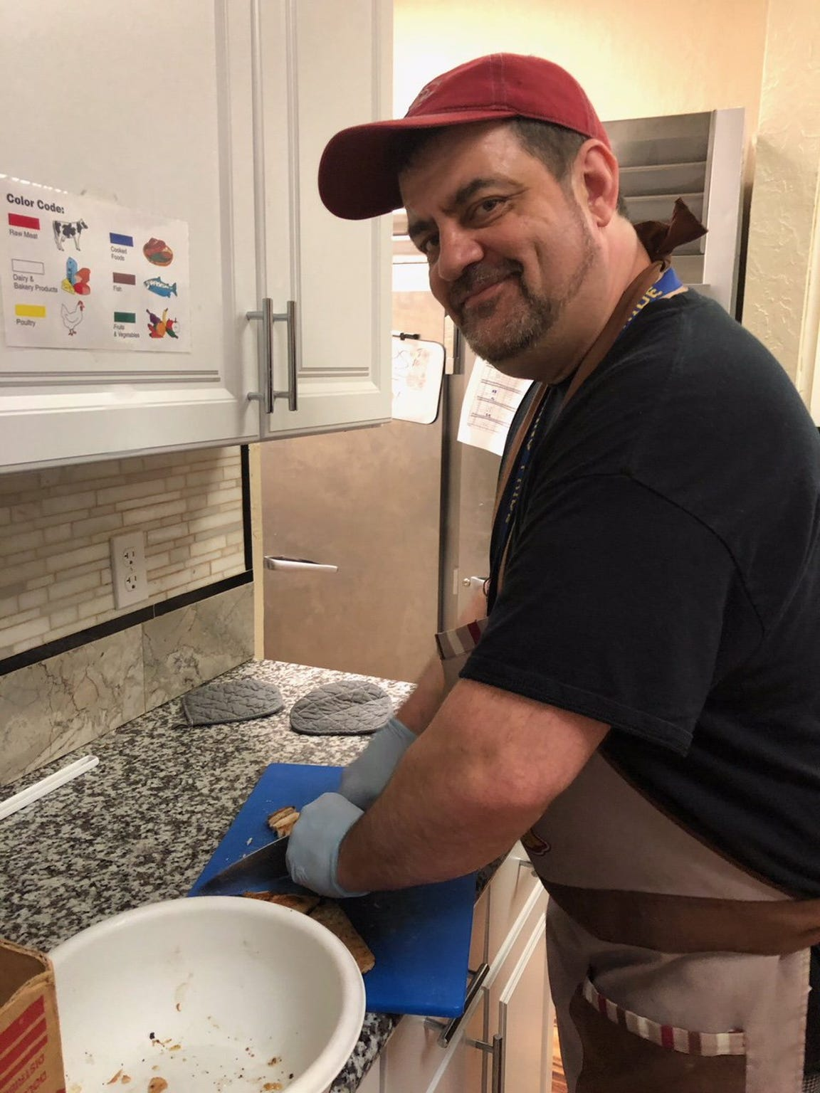 Patrick Jones, chef at HOAP Center