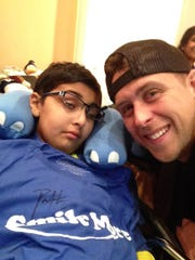Om Parikh of Monroe and Roman Atwood.