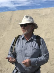 Cameron Barrows, the assistant research ecologist at