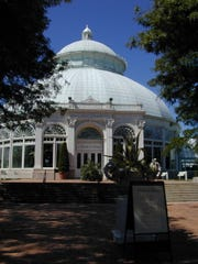 The Enid A. Haput Conservatory, part of the New York