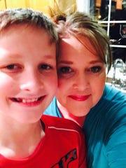 Jack Schumacher and his mother, Tammi Huber