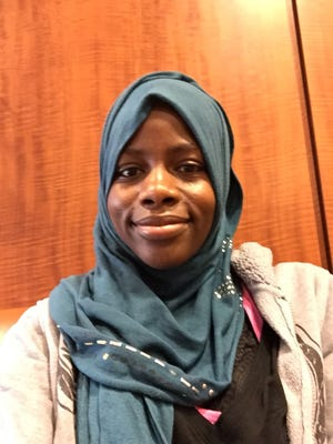 """DuPont Manual senior Khadija Abdullahi won a national Scholastic Gold Medal for personal essay and memoir for her piece """"On Finding Myself."""""""