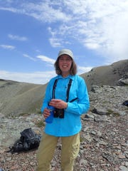 Ellen Horowitz guides a Glacier Institute hike in theTwo Medicine area of Glacier National Park.
