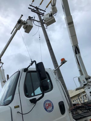 Guam Power Authority workers will arrive in marked trucks and carry proper identification.