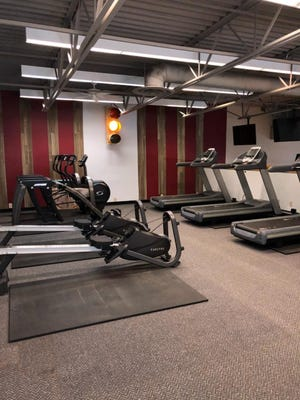 A look inside Clarksville Athletic Club's new quick-fit workout area.