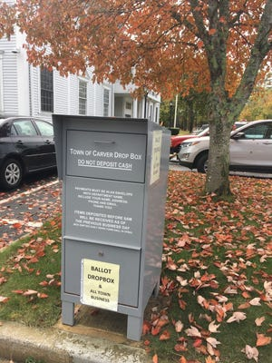 Carver has had an outdoor dropbox for ballots like many communities.