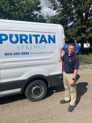 Zain Attebery, a route salesperson at Lincoln, IL-based Puritan Springs, is a recipient of IBWA's new Up-and-Comer Award.