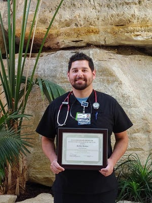 Bobby Matter, respiratory therapist at HaysMed, part of The University of Kansas Health System, was recently named Respiratory Therapist of the Year.