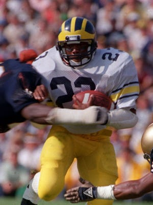 """""""Michigan guys, they have a strong bond with each other,"""" said Jamie Morris, who was Michigan's lead running back — and the eventual U-M career leading rusher — for Jim Harbaugh's three years as a starter in 1984-87."""