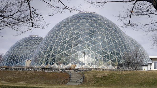 Mitchell Park Domes.