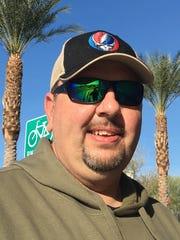 Chad Kellogg and his fiance visited multiple marijuana dispensaries across the Coachella Valley Jan. 1.