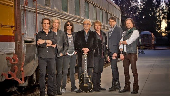 The classic-rock band Foreigner will perform at 8 p.m. Tuesday at the Plaza Theatre, Downtown.